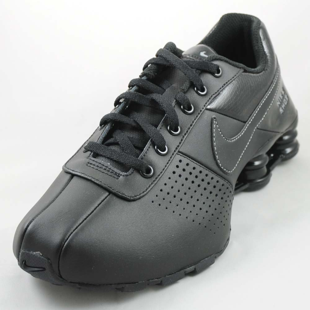 fff0db3c3c39 ... nike shox deliver brown leather ...